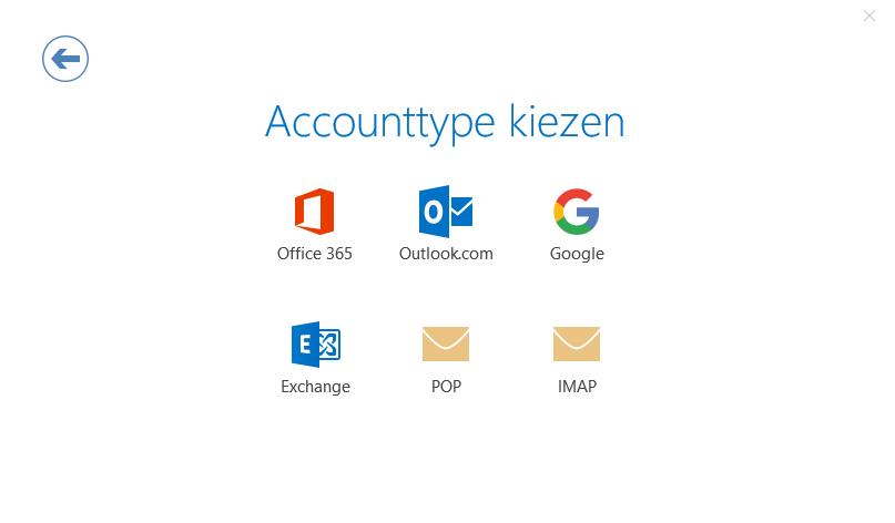 1e4cda78ff810a Optie IMAP: vul bij inkomende en uitgaande e-mail bij de server mail.uwdomein.nl  in. Bij inkomende e-mail verandert u de poort naar 143, bij uitgaande ...